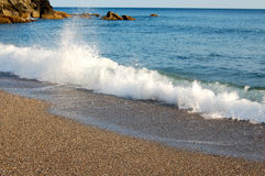 Alta marea Foto de archivo libre de regalías