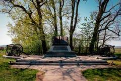 Alta marea Mark Book di Gettysburg fotografie stock