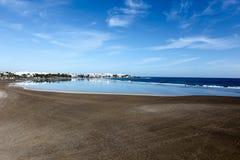 Alta marea sulle spiagge Immagini Stock Libere da Diritti