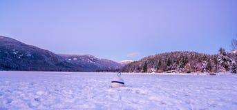ALTA-MEER - Fluiter BC Canada Royalty-vrije Stock Foto's