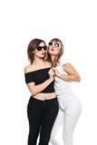Alta moda Modello alla moda affascinante delle giovani donne Fotografie Stock Libere da Diritti