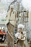 Alta moda - stile di inverno Immagini Stock Libere da Diritti