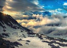 Alta montagna Immagine Stock Libera da Diritti