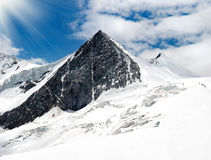 Alta montagna Fotografie Stock Libere da Diritti