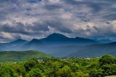 Alta montagna Fotografie Stock