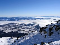 Alta montagna. Immagine Stock Libera da Diritti