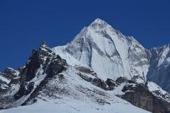 Alta montagna accanto a Cho Oyu Fotografia Stock Libera da Diritti