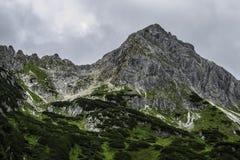 Alta montagna in alpi austriache, Immagini Stock
