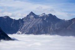 Alta montagna in Austria Immagine Stock Libera da Diritti
