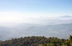 Alta montagna complessa Fotografia Stock Libera da Diritti