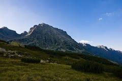 Alta montagna dalla Polonia Fotografia Stock