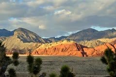 Alta montagna del deserto Fotografie Stock Libere da Diritti