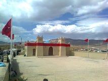 Alta montagna del Marocco Fotografia Stock