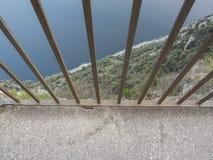 Alta montagna della forma di vista Fotografia Stock Libera da Diritti