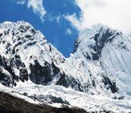 Alta montagna delle Cordigliera Fotografia Stock Libera da Diritti