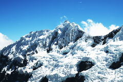 Alta montagna delle Cordigliera Fotografia Stock
