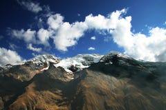 Alta montagna delle Cordigliera Fotografie Stock Libere da Diritti