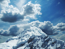 Alta montagna delle Cordigliera Immagini Stock