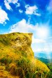 Alta montagna di Phucheefah, Chiang Rai Tailandia Fotografia Stock Libera da Diritti