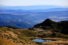 Alta montagna di Rila Immagine Stock