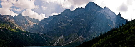 Alta montagna di Tatra Fotografie Stock