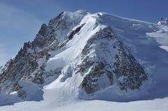 Alta montagna e ghiacciai Fotografia Stock Libera da Diritti