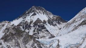 Alta montagna in Himalaya, Khumbutse Fotografia Stock