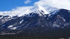 Alta montagna nell'inverno Immagine Stock Libera da Diritti