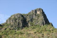 Alta montagna in paese, Tailandia Fotografia Stock