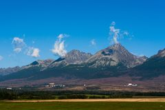 Tatras Immagine Stock Libera da Diritti