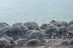 Alta montagna in parco nazionale, Tailandia Immagini Stock