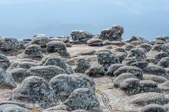 Alta montagna in parco nazionale, Tailandia Fotografie Stock Libere da Diritti