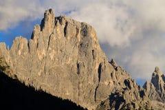 Alta montagna a penombra Fotografia Stock Libera da Diritti