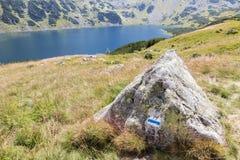Alta montagna in Polonia. Fotografie Stock