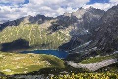 Alta montagna in Polonia. Fotografia Stock