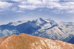 Alta montagna in Polonia. Fotografie Stock Libere da Diritti