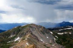 Alta montagna Ridge Fotografia Stock