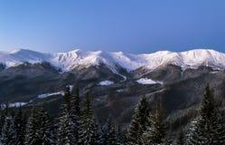 Alta montagna Ridge Immagini Stock Libere da Diritti