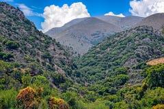 Alta montagna su Creta Fotografia Stock Libera da Diritti