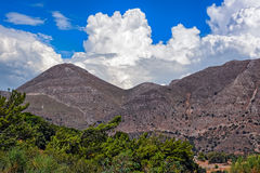 Alta montagna su Creta Immagine Stock Libera da Diritti