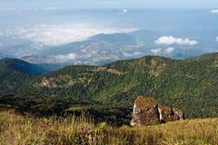 Alta montagna in Tailandia Fotografia Stock
