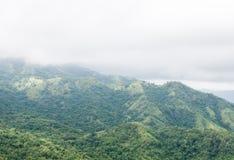 Alta montagna verde Fotografia Stock