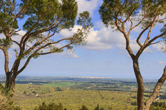 Alta Murgia National Park: panoramautsikt - & x28; Apulia& x29; ITALIEN Arkivbild