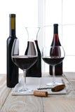 Alta natura morta chiave del vino Fotografia Stock Libera da Diritti