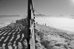 Alta nebbia nelle alpi nell'inverno L'Austria, Europa Fotografie Stock