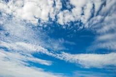Alta nube Foto de archivo libre de regalías