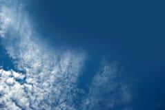 Alta nube Fotografía de archivo libre de regalías