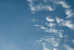 Alta nube Imágenes de archivo libres de regalías