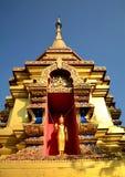 Alta pagoda Tailandia Lanna Fotografia Stock