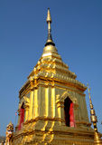 Alta pagoda Tailandia Lanna Fotografia Stock Libera da Diritti